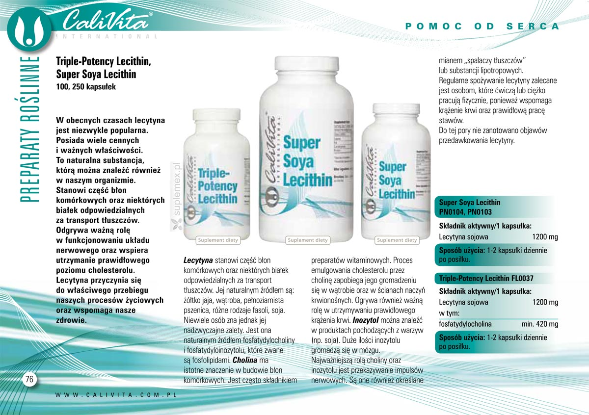 Katalog Triple Potency Lecithin